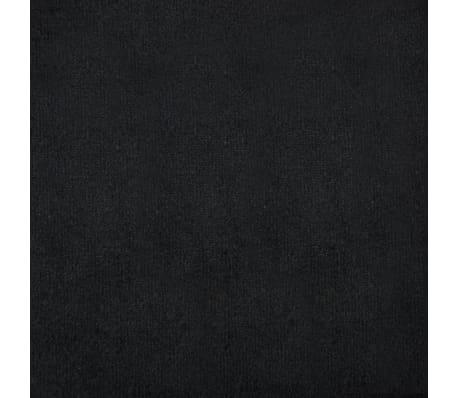 vidaXL Dvivietė sofa, aksominis apmušalas, 146x75x72cm, juoda[10/11]