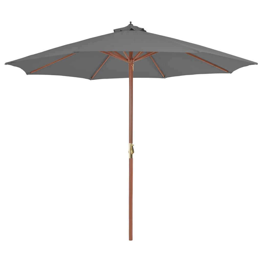 Cet élégant parasol est parfait pour créer de l'ombre et vous protéger des rayons UV nocifs.