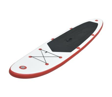 vidaXL Stand-up paddleboard opblaasbaar rood en wit[2/8]