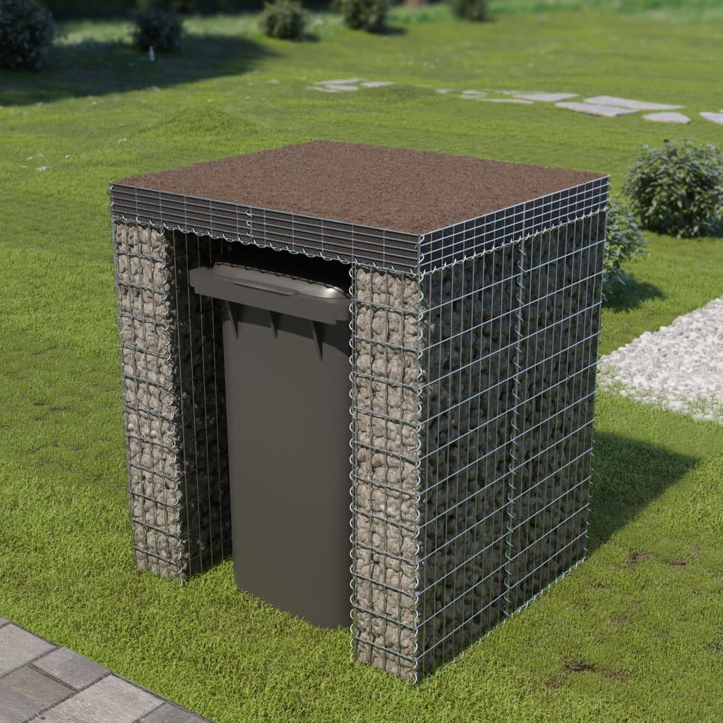 vidaXL Schanskorf muur container 110x100x130 cm gegalvaniseerd staal