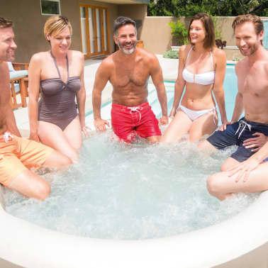 Intex Spa gonflable avec massage à bulles PureSpa 216 x 71 cm 28408NL[6/13]