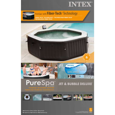 Intex Spa PureSpa Jet & Bubble Deluxe 218 x 71 cm 28456NL[14/16]