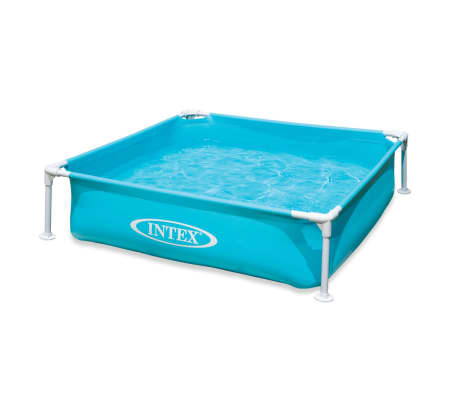 Intex Piscine hors sol Mini Frame 122 x 122 x 30 cm 57173NP[1/3]
