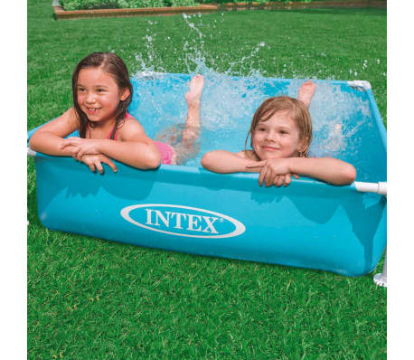 Intex Piscine hors sol Mini Frame 122 x 122 x 30 cm 57173NP[2/3]
