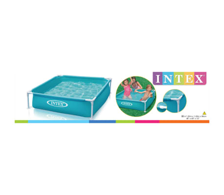 Intex Piscine hors sol Mini Frame 122 x 122 x 30 cm 57173NP[3/3]