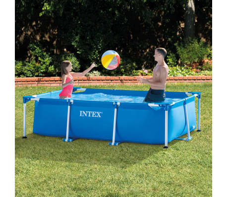 Intex Piscine Rectangular Frame 260 x 160 x 65 cm 28271NP[2/5]