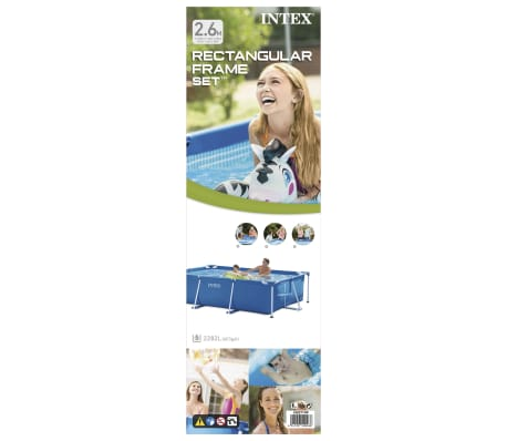 Intex Piscine Rectangular Frame 260 x 160 x 65 cm 28271NP[3/5]