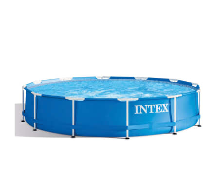 Intex Swimming Pool Metal Frame 366x76 cm 28210NP