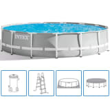 Intex Set Piscina Prism Frame 457x107 cm 26724GN