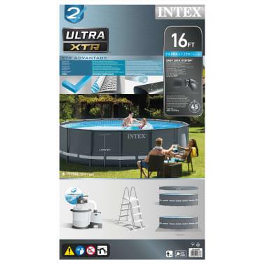 Intex Ultra XTR Frame Zwembadset rond 488x122 cm 26326GN[15/15]