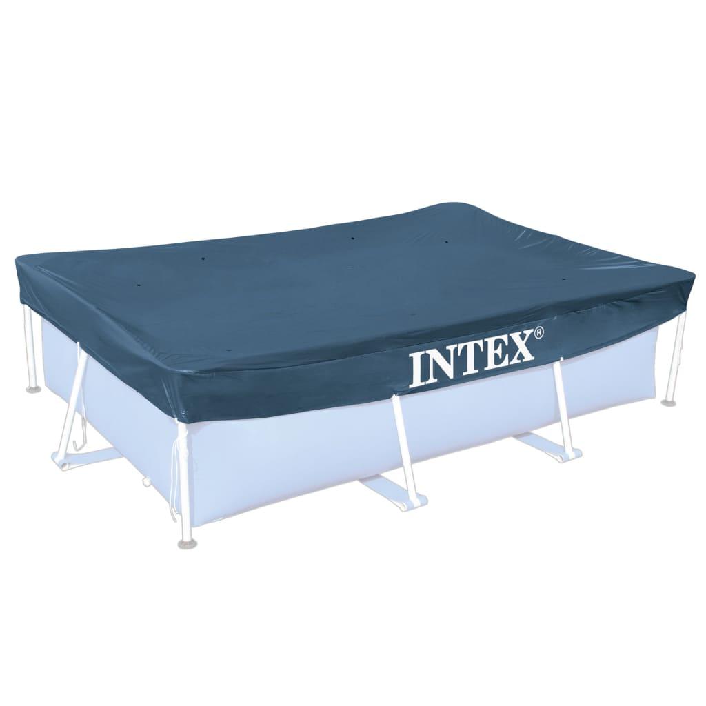 Intex Kryt na obdélníkový bazén 300 x 200 cm 28038