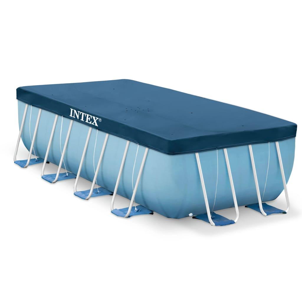 Intex Couverture rectangulaire pour piscine 400x200 cm 28037