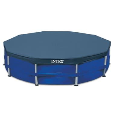 Intex Couverture de piscine ronde 457 cm 28032[1/3]