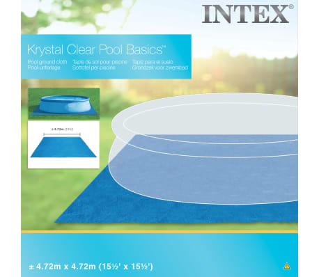 Intex Tapis carré de sol pour piscine 472 x 472 cm 28048[2/5]
