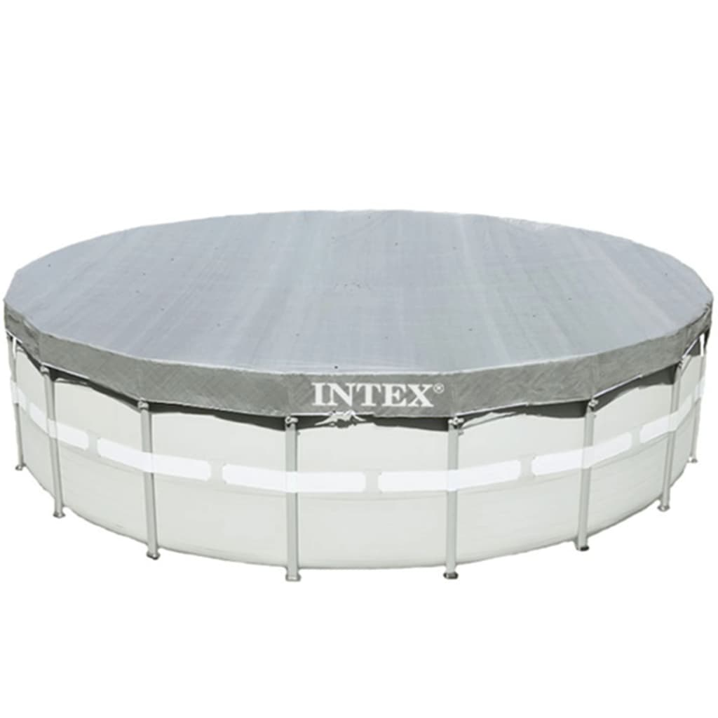 Afbeelding van Intex Zwembadhoes Deluxe rond 488 cm 28040