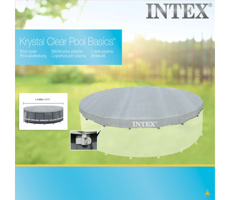 Intex Zwembadhoes Deluxe rond 488 cm 28040[2/4]