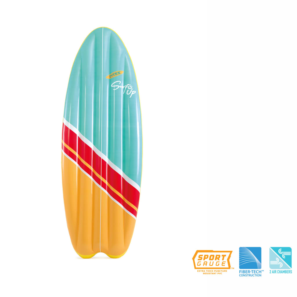 Intex Nafukovací surf sada 2 ks Surf's Up Mats 178 x 69 cm 58152EU