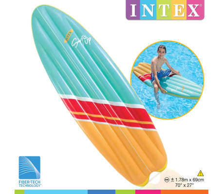 Intex Inflatable Surfboard Set 2 pcs Surf's Up Mats 178x69 cm 58152EU[2/6]