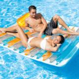 Intex Aufblasbare Strand-Matratze Double Lounge 198×160 cm 56897EU
