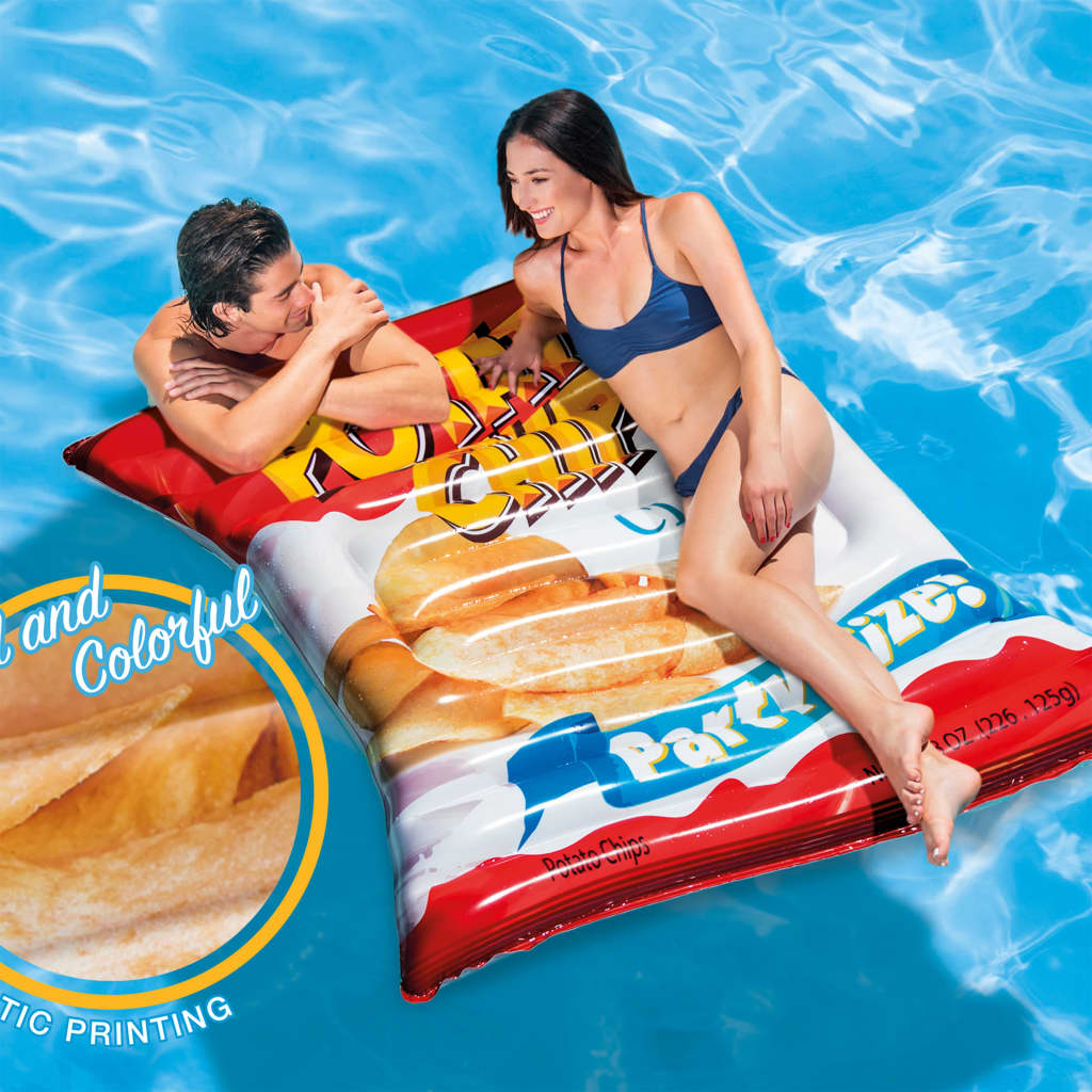 Intex Saltea de piscină Potato Chips, 178 x 140 cm, 58776EU vidaxl.ro