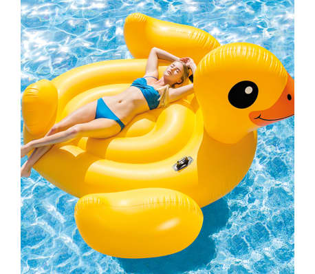 Intex Flotador piscina Mega Yellow Duck Island 56286EU[1/3]