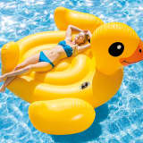 Intex Badeinsel Mega Yellow Duck Island 56286EU