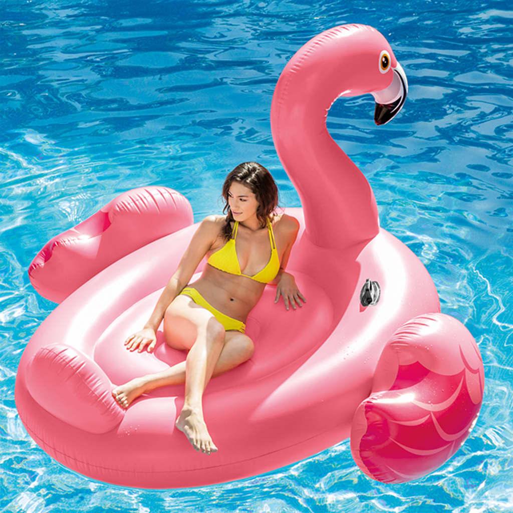 Intex Saltea de piscină, Mega Flamingo Island, 56288EU poza vidaxl.ro