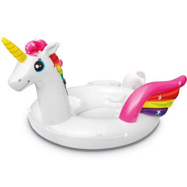 Intex Luchtbed Unicorn Party Island 57266EU[2/4]