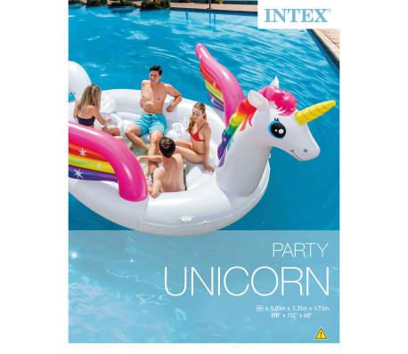 Intex Luchtbed Unicorn Party Island 57266EU[3/4]