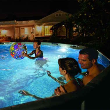 Intex Applique murale de piscine à LED magnétique 28698[4/9]