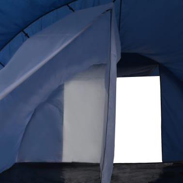 vidaXL Tienda de campaña 390x330x195 cm azul[5/9]