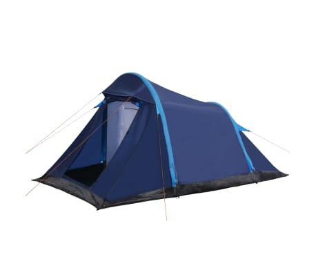 vidaXL Camping Tent with Inflatable Beams 320x170x150/110 cm Blue