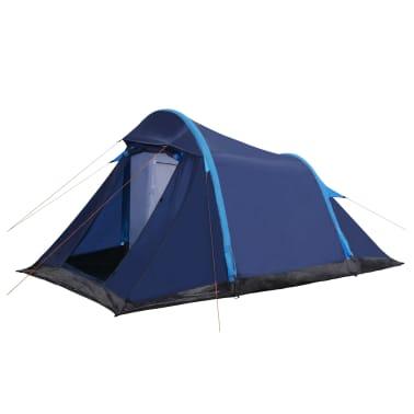 vidaXL Tienda de campaña con vigas hinchables 320x170x150/110 cm azul[1/8]