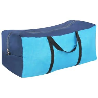 vidaXL Tienda de campaña con vigas hinchables 320x170x150/110 cm azul[4/8]