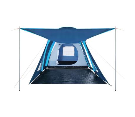vidaXL Tienda de campaña con vigas hinchables 500x220x180 cm azul[4/8]