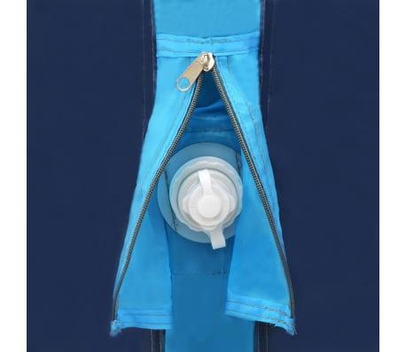vidaXL Tienda de campaña con vigas hinchables 500x220x180 cm azul[6/8]