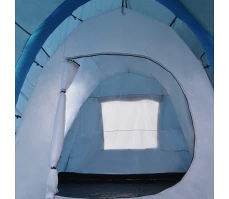 vidaXL Tienda de campaña con vigas hinchables 500x220x180 cm azul[7/8]