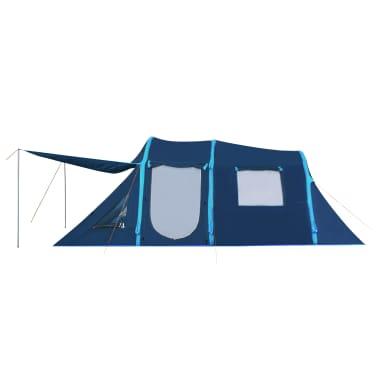 vidaXL Tienda de campaña con vigas hinchables 500x220x180 cm azul[2/8]