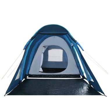 vidaXL Tienda de campaña con vigas hinchables 500x220x180 cm azul[3/8]