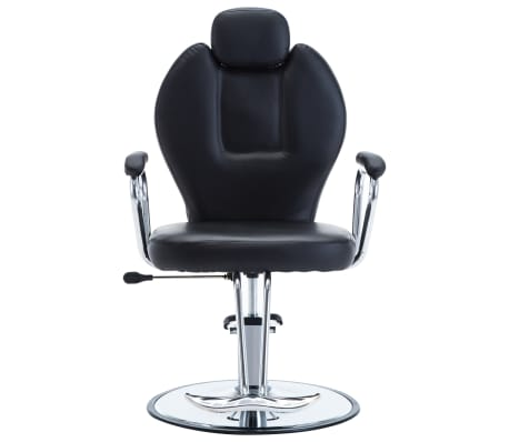 vidaXL Chaise de coiffeur Similicuir Noir[2/8]