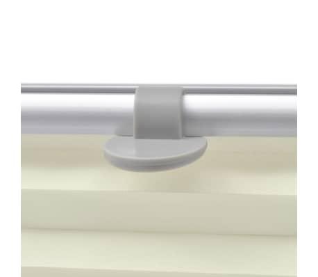 vidaXL Plisovaná roleta krémová MK06[4/7]