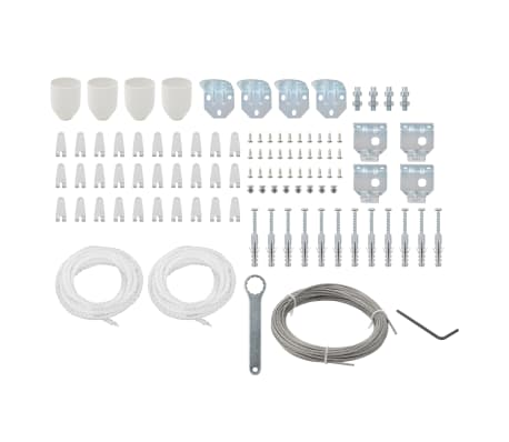 vidaXL 101 Piece Awning Accessory Set