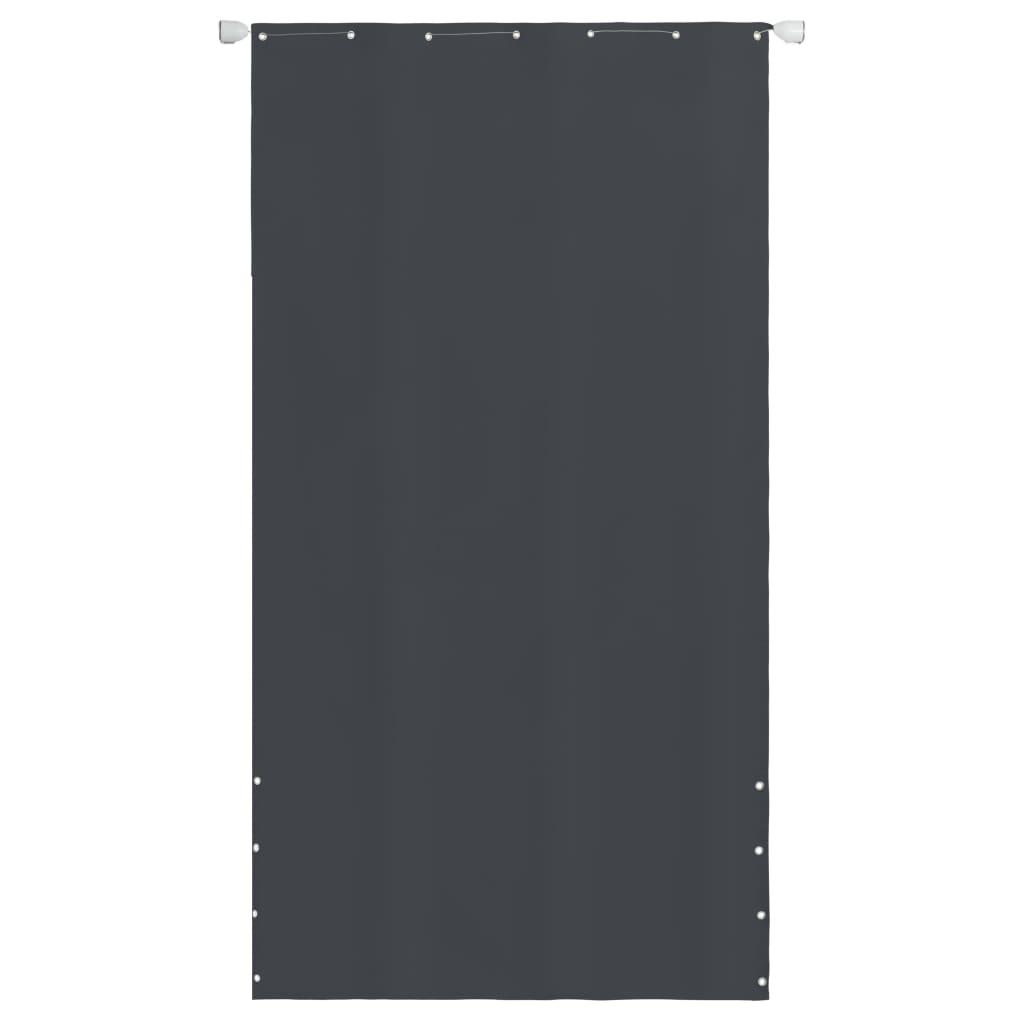 vidaXL Balkonscherm 140x240 cm oxford stof grijs