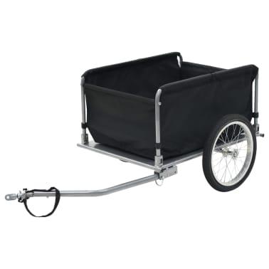 vidaXL Fahrrad-Lastenanhänger Schwarz und Gelb 65 kg[3/6]