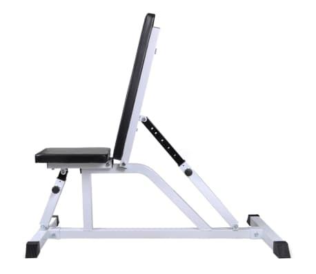 vidaXL Banc d'entraînement avec jeu d'haltères 60,5 kg[2/11]