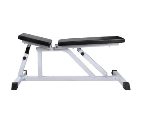 vidaXL Banc d'entraînement avec jeu d'haltères 60,5 kg[4/11]