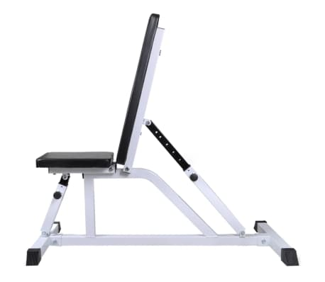 vidaXL Banc d'entraînement avec jeu d'haltères 30,5 kg[2/10]