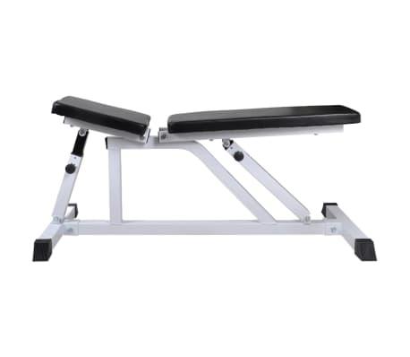 vidaXL Banc d'entraînement avec jeu d'haltères 30,5 kg[4/10]