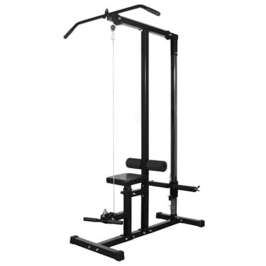 vidaXL Máquina de musculación con discos de peso 40 kg[3/8]