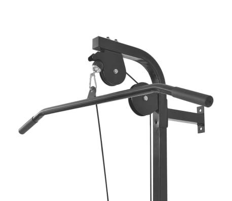 vidaXL Tour de musculation murale avec jeu d'haltères et poids 30,5 kg[4/9]
